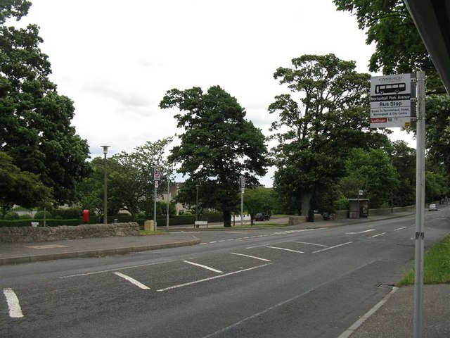 Mortonhall Park Avenue and Frogston Road East