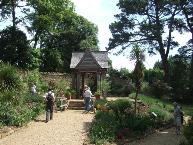 In Abbotsbury subtropical gardens