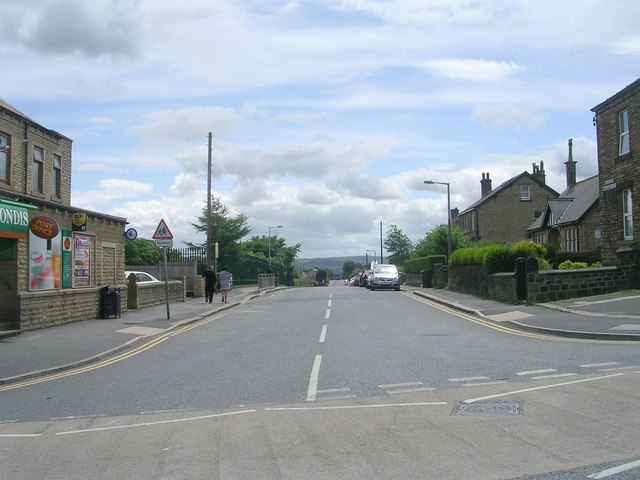 Dryclough Road - Blackmoorfoot Road