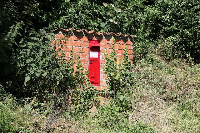 Postbox at Belleau