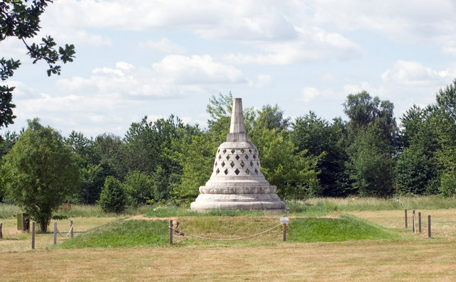 Stupa at Amaraviti Buddhist Monastery