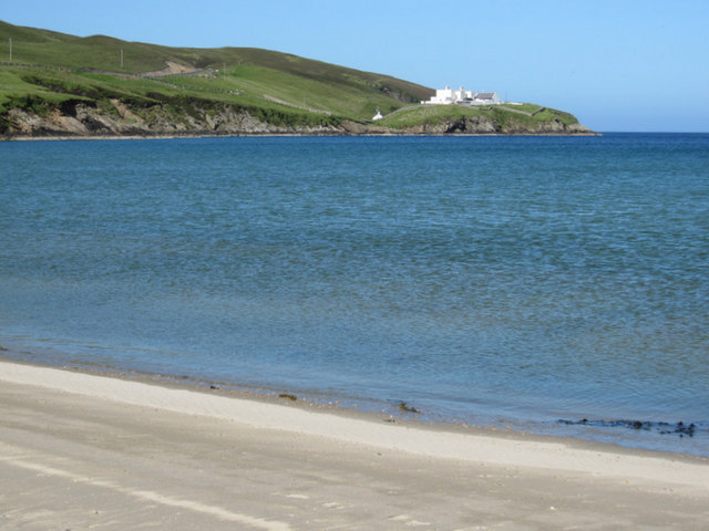 View to the Shore Station from Burrafirth beach