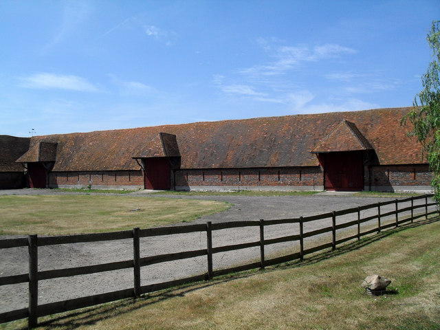 Barn Yard near Ipsden