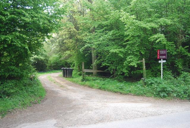 Entrance to Kidborough Hall, Freshfield Lane