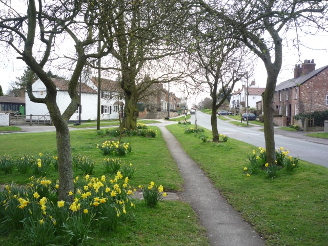 Great Ouseburn village green