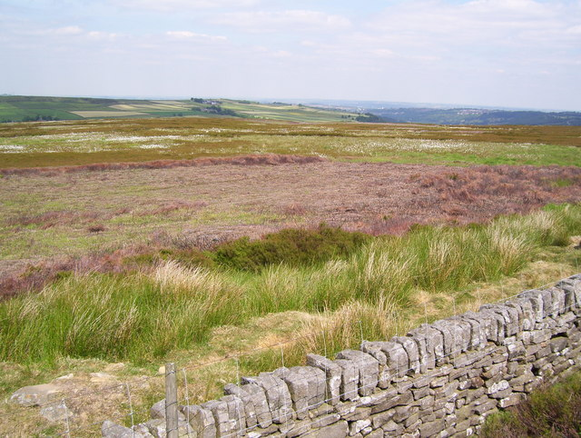 Moors by Redmires Upper Reservoir conduit
