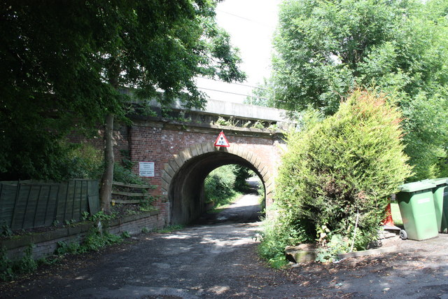 Main line railway bridge