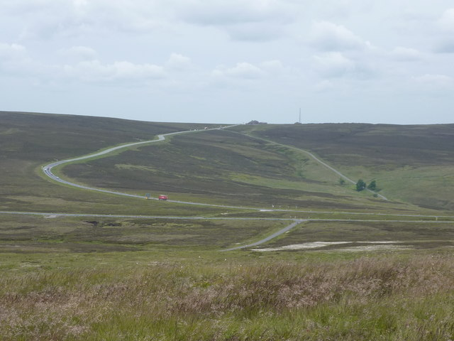 Cat & Fiddle on the horizon