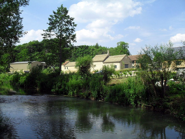 The Evenlode at Combe Mill