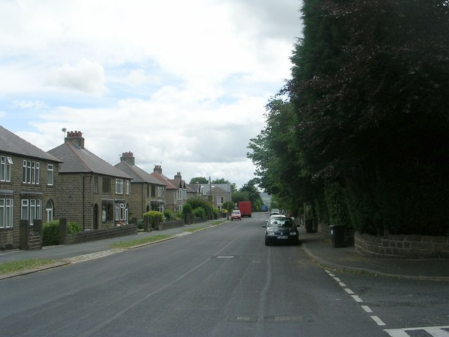 Dryclough Road - viewed from Foster Avenue