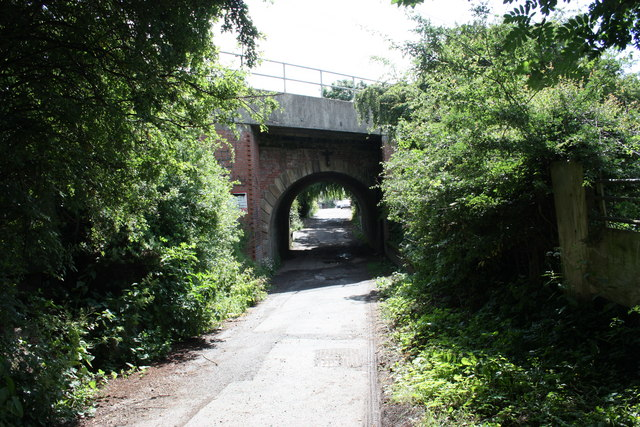 Main line railway bridge