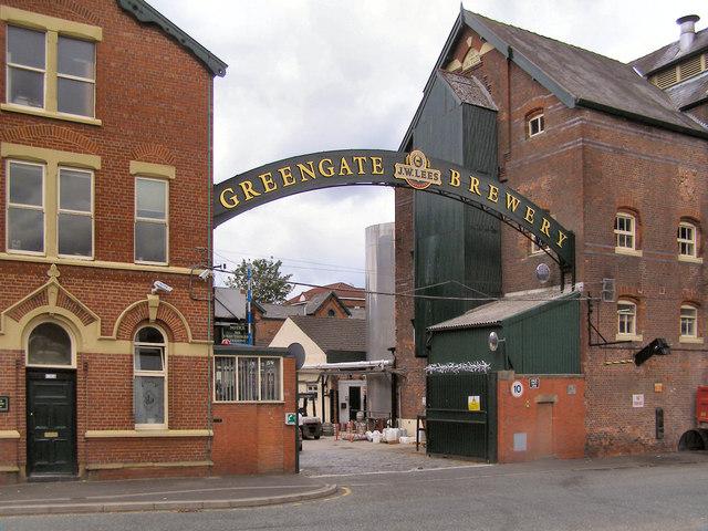 J W Lees Greengate Brewery