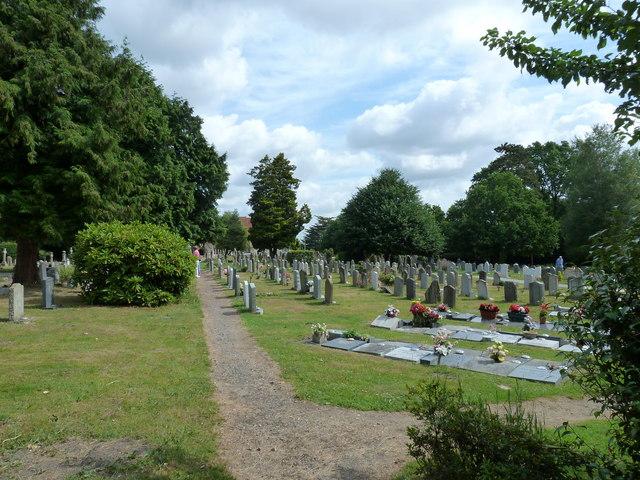 All Saints, Dibden- churchyard (2)