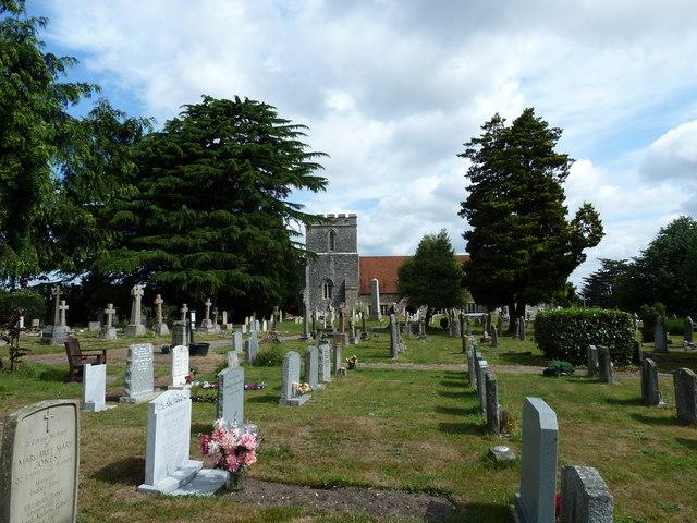 All Saints, Dibden- churchyard (3)