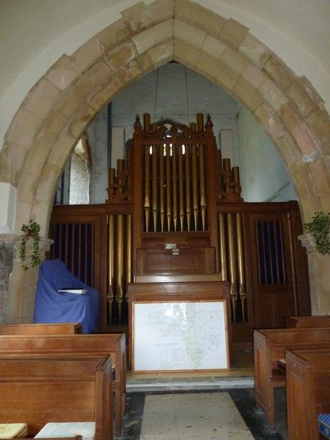 All Saints, Dibden- organ