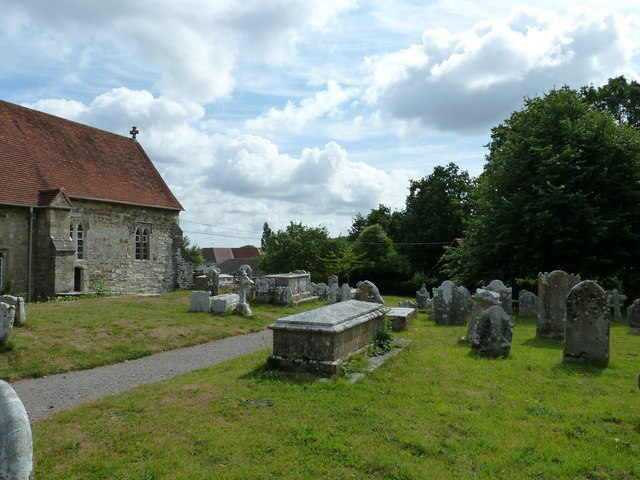 All Saints, Dibden- churchyard (6)