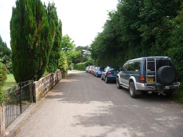 Puddington : Glebelands Road