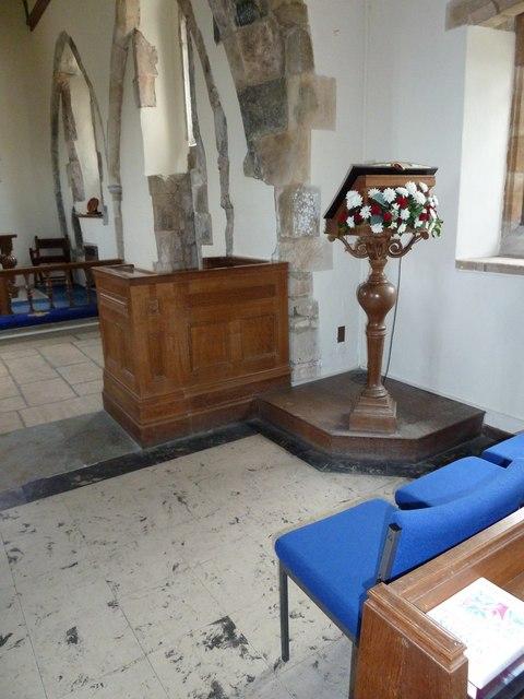 All Saints, Dibden- lectern