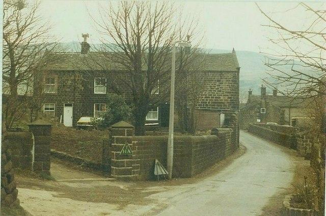 Mankinholes Hall in 1984