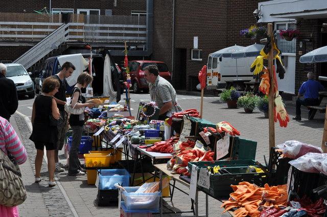 Tiverton : Tiverton Pannier Market Stall
