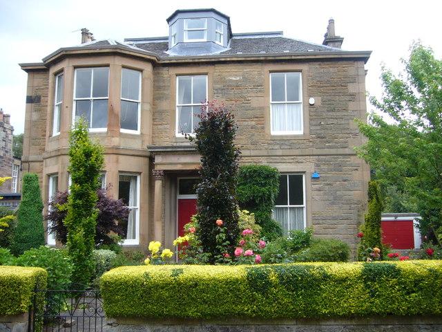 Victorian villa, Abbotsford Crescent