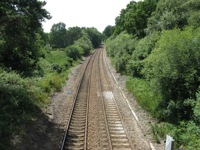 South west on the Uckfield line