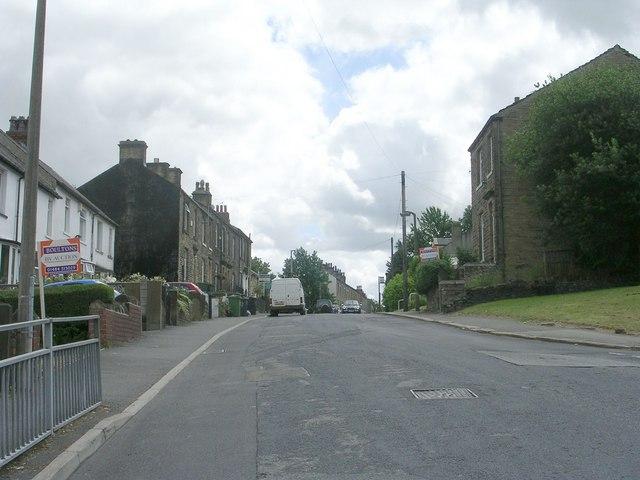 Moor End Road - viewed from Walpole Road