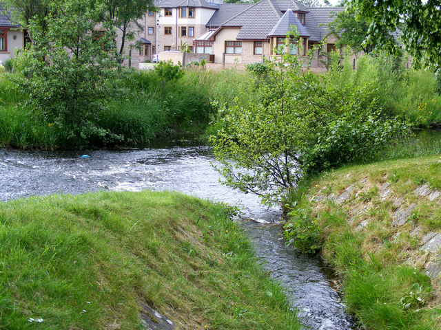 The Mosset Burn at forres