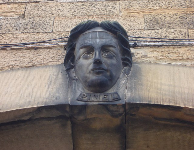 Head of Philippe Pinel, Royal Edinburgh Hospital
