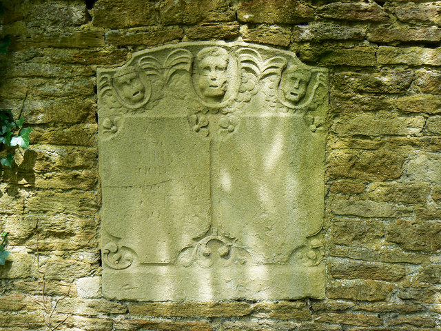 Memorial stone, St Bartholomews Church, Corsham