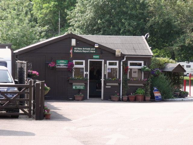 Office, Commons Wood Caravan Club site