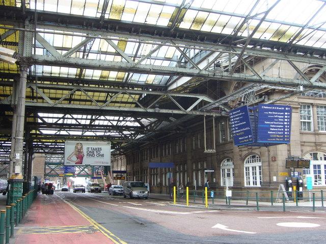 Waverley Station interior