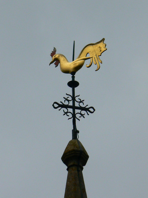 Weather cock, St Bartholomew's Church, Corsham