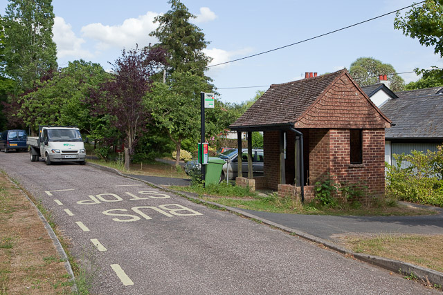 Bus Shelter at Crampmoor