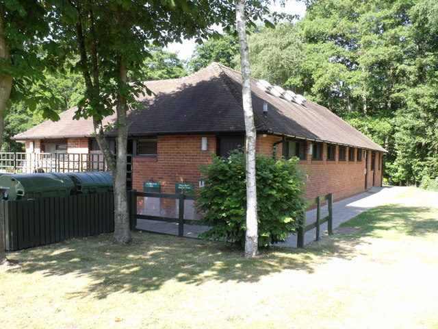Facilities Block, Four Oaks Caravan Club site, Henley