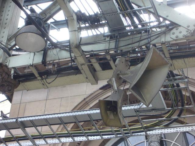 Waverley Station loudspeakers