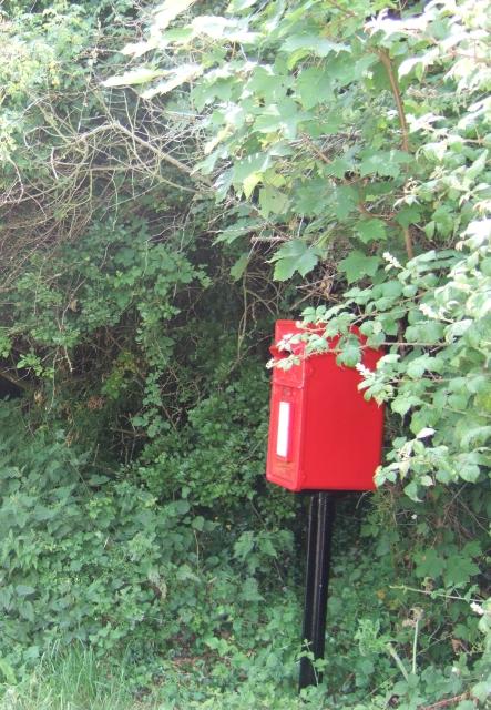 Postbox at Vinney Cross