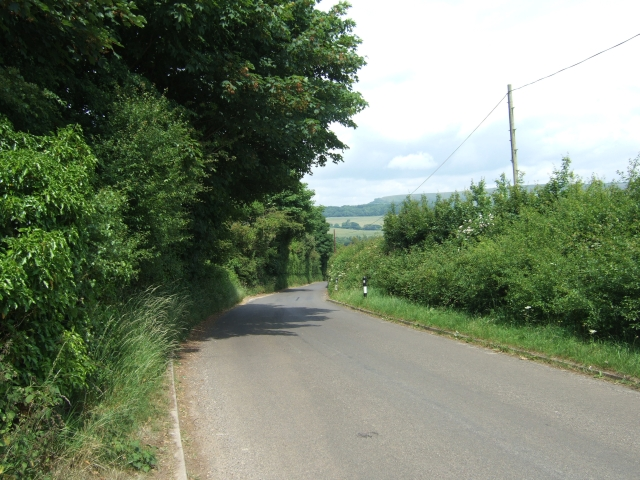 Road to Spyway from Vinney Cross