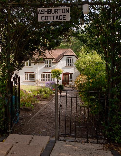 Ashburton Cottage garden gateway, Crampmoor