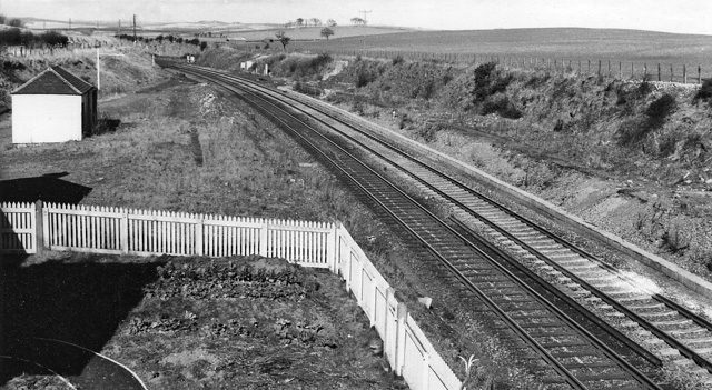 Site of Burnmouth Station