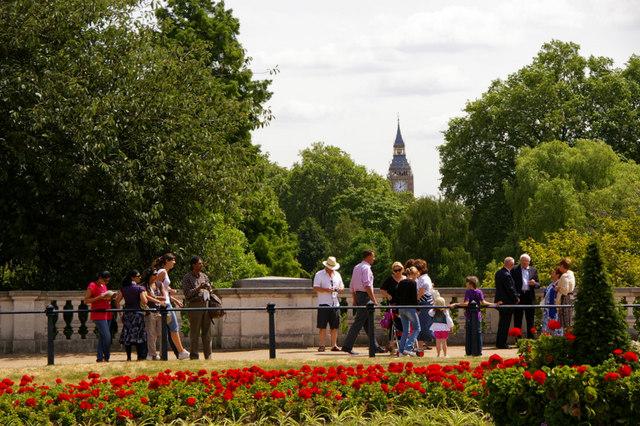 Garden adjacent to St James's Park