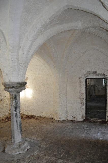 13th Century Brick Vaulted Undercroft