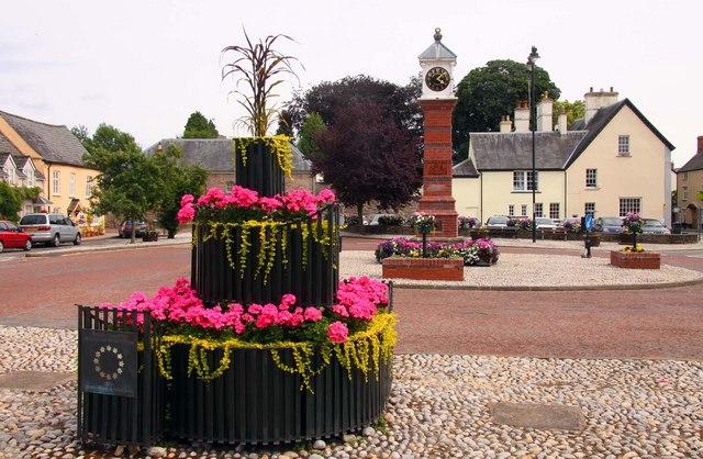 Twyn Square in Usk