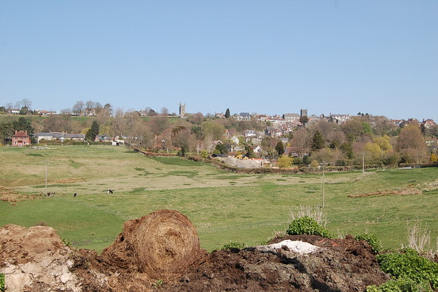 Shaftesbury hill top town