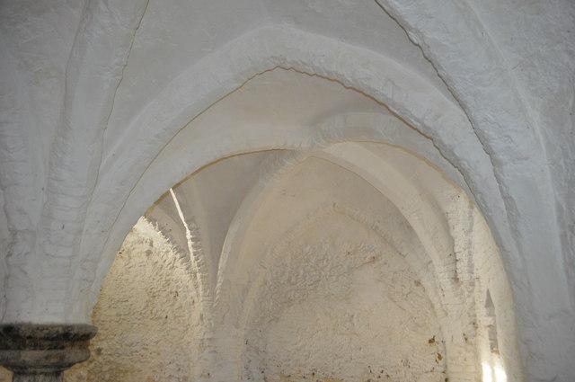 Brick Vaulted Ceiling