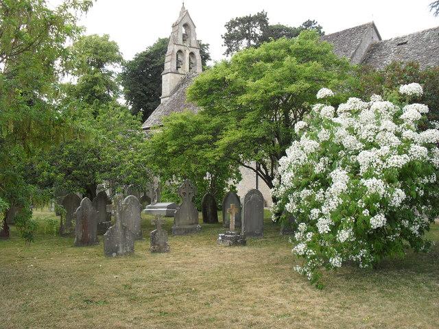 Poulton churchyard