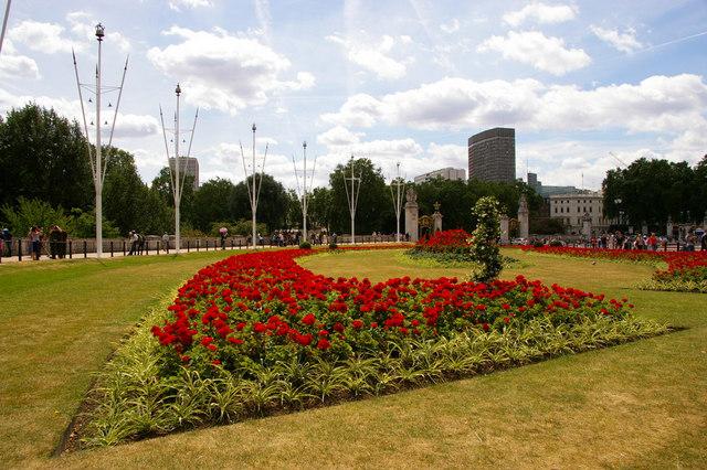 Garden, The Mall, London