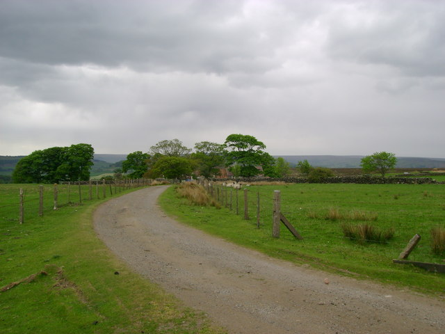 Track  to  Clitherbeck  Farm