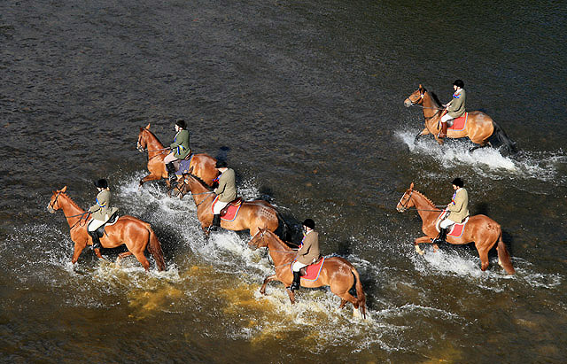 Riders on the River Tweed