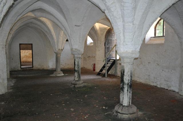 St Olaves Priory 13th Century Undercroft